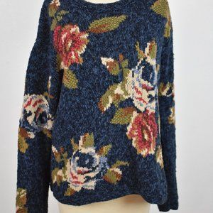 Liz Claiborne flowers sweater